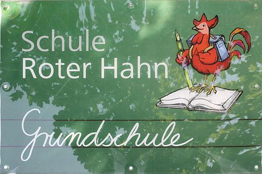 Logo Grundschule Roter Hahn