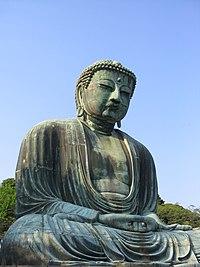 定印の阿弥陀如来像(鎌倉大仏)