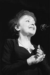 Edith Piaf. Source: Wikipedia