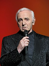 Charles Aznavour. Source: Wikipedia