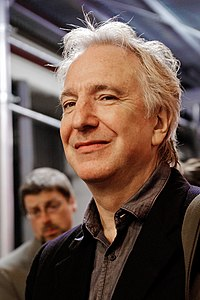 Alan RICKMAN. Source: Wikipedia