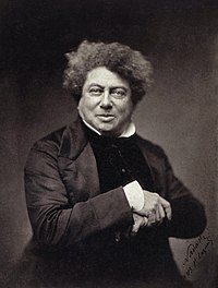 Alexandre DUMAS. Source: Wikipedia