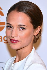 Alicia Vikander. Source: Wikipedia