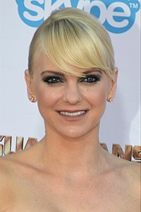 Anna Faris. Source: Wikipedia