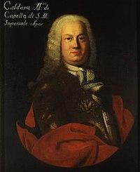 Antonio Caldara. Source: Wikipedia