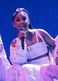 Ariana Grande. Source: Wikipedia