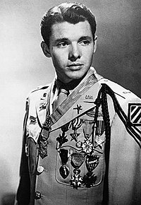 Audie Murphy. Source: Wikipedia