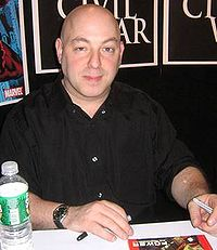 Brian Michael Bendis. Source: Wikipedia