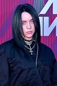 Billie Eilish. Source: Wikipedia