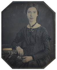 Emily Dickinson. Source: Wikipedia