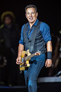 Bruce Springsteen. Source: Wikipedia