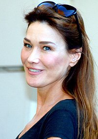Carla Bruni. Source: Wikipedia