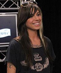 Christina Perri. Source: Wikipedia