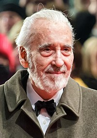 Christopher Lee. Source: Wikipedia