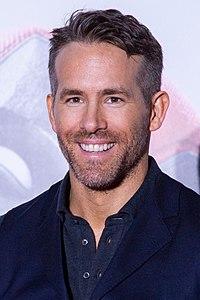 Ryan Reynolds. Source: Wikipedia