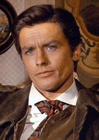 Alain Delon. Source: Wikipedia