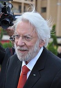 Donald SUTHERLAND. Source: Wikipedia
