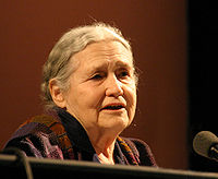Doris Lessing. Source: Wikipedia