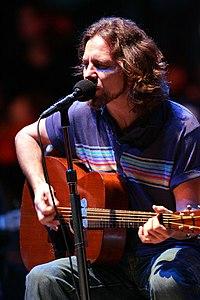 Eddie Vedder. Source: Wikipedia