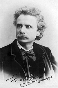 Edvard Grieg. Source: Wikipedia