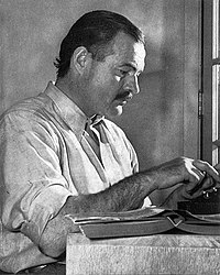 Ernest Hemingway. Source: Wikipedia