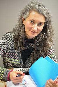 Sandrine Martin. Source: Wikipedia