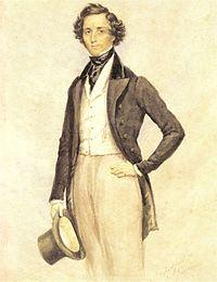 Félix Mendelssohn. Source: Wikipedia