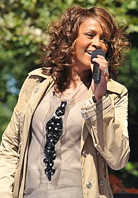 Whitney Houston. Source: Wikipedia