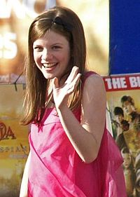 Georgie Henley. Source: Wikipedia