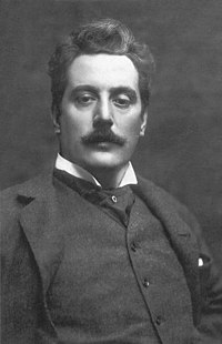Giacomo Puccini. Source: Wikipedia