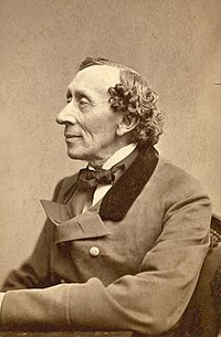 Hans Christian Andersen. Source: Wikipedia