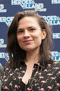 Hayley Atwell. Source: Wikipedia