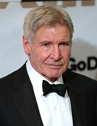 Harrison Ford. Source: Wikipedia