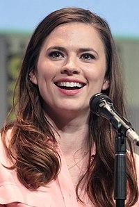 Hayley Atwell. Source: Wikipedia