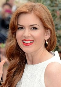 Isla Fisher. Source: Wikipedia