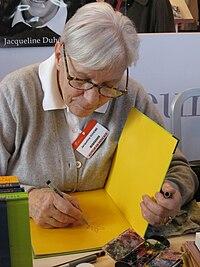 Jacqueline Duhême. Source: Wikipedia