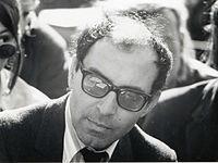 Jean-Luc GODARD. Source: Wikipedia