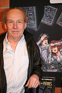 Jean-Claude Mézières. Source: Wikipedia