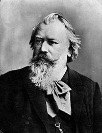 Johannes Brahms. Source: Wikipedia