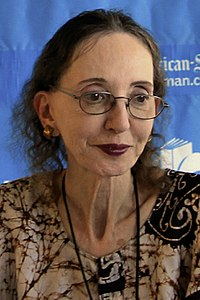 Joyce Carol Oates. Source: Wikipedia