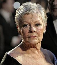 Judi Dench. Source: Wikipedia