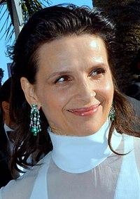 Juliette Binoche. Source: Wikipedia