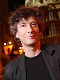 Neil Gaiman. Source: Wikipedia