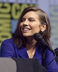Lauren Cohan. Source: Wikipedia