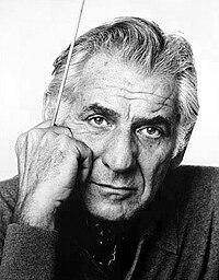 Leonard Bernstein. Source: Wikipedia