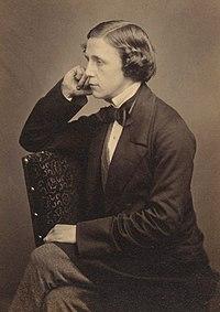 Lewis Carroll. Source: Wikipedia