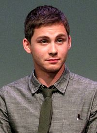 Logan LERMAN. Source: Wikipedia