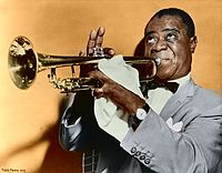 Louis Armstrong. Source: Wikipedia