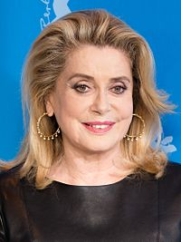 Catherine Deneuve. Source: Wikipedia