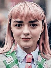 Maisie Williams. Source: Wikipedia
